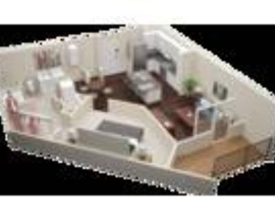 Millworks Apartments - One Bedroom One Bath A4