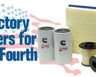 Geno's Garage July Special - Save 10% on Factory Filters