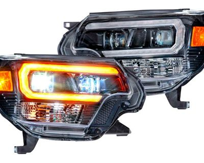 All-New Version of XB Headlights by Morimoto for 2d Gen Toyota Tacoma