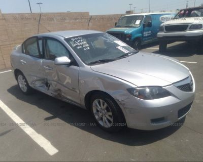 Salvage Gray 2007 Mazda Mazda3