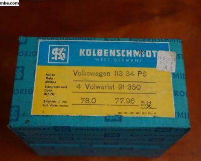NOS Piston Set Kolbenschmidt 113 107 119 P