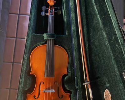 Violin + Lanc me mini bag!!