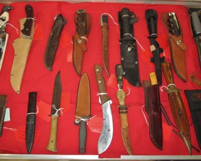 Collectibles, Knives & General Mdse. LIVE Auction