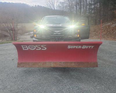 Boss heavy duty snow plow
