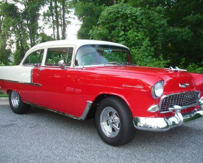 1955 Chevrolet 210 2-door coupe All-Steel Restored Tri-Five