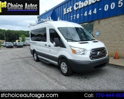 "Used 2015 Ford Transit Wagon T-150 130"" Med Roof XLT Sliding RH Dr"