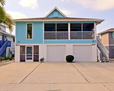 """Welcome to """"The Oasis"""" at 5612 Easy Street. This newly remodeled, 3 bedroom, 2 bath duplex, has an in-ground heated salt water pool and is located mid Island - Mid Island"""