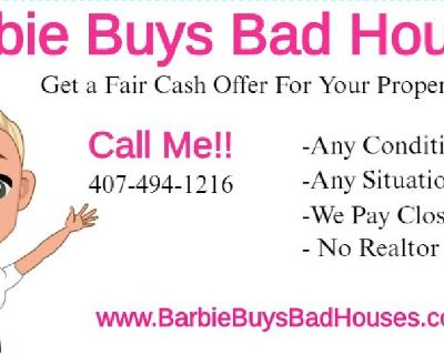 Cash For Houses in Any Condition and Any Situation...