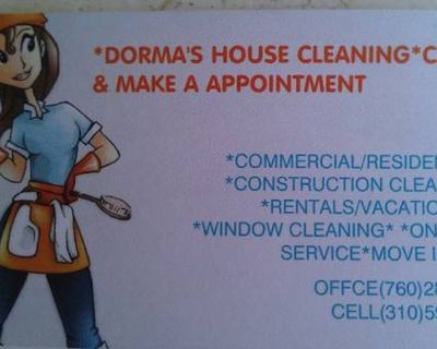 *DORMA'S HOUSE CLEANING SERVICES*