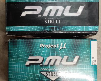 Fs: Project MU Street brake pads for ISF IS-F - brand new