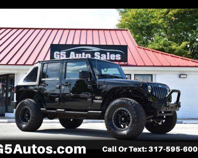 Used 2012 Jeep Wrangler Unlimited Sahara