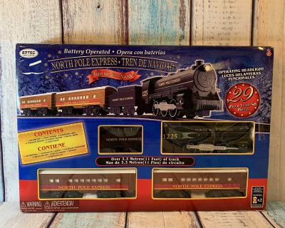 Holiday Time North Pole Express Train Set