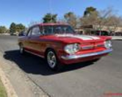 1962 Corvair Monza 110 Red