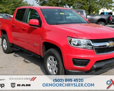 Pre-Owned 2018 Chevrolet Colorado Work Truck