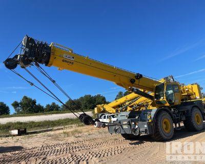 2017 (unverified) Grove RT770E 70 ton 4x4 Rough Terrain Crane
