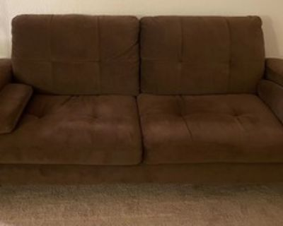 Comfortable two-seater couch