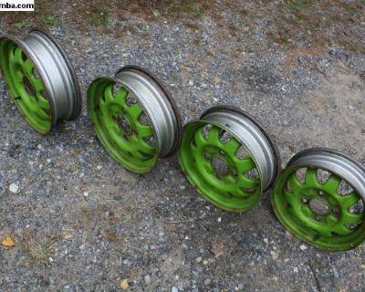 Old School Wheels NICE Baja Bug Steel Rims ET34