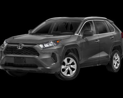 New 2021 Toyota RAV4 LE FWD 4D Sport Utility