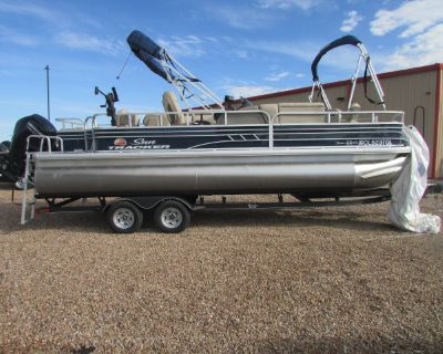 2020 Sun Tracker FISHING BARGE 22 DLX
