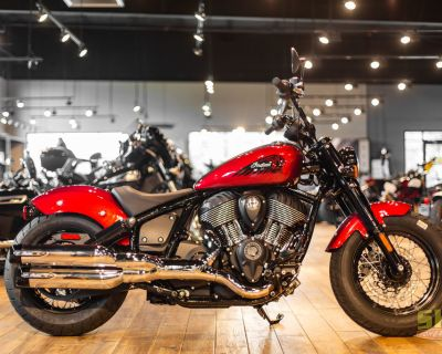 2022 Indian Motorcycle Chief Bobber ABS Ruby Metallic