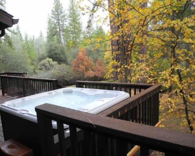 High Speed Wifi, Spa, A/C, Generator, 3000 Sq Ft, 2.5 Private Acres - Mariposa