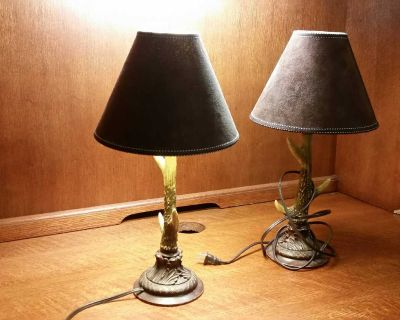 Antler Accent Lamps Set of 2