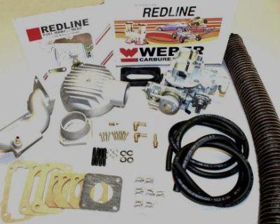 Mercedes Benz 220 68-73 Genuine Weber/redline 32/36 Dgev Carburetor Kit K240