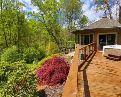Asheville 4 bedrooms 3.5 bathrooms home with hot tub and garage