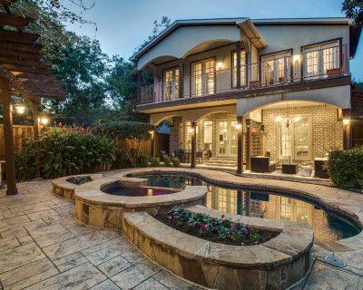 Modern Tudor with Backyard Oasis and Pool, Dallas, TX