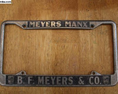 [WTB] Wanted Original Meyers Manx plate Frames