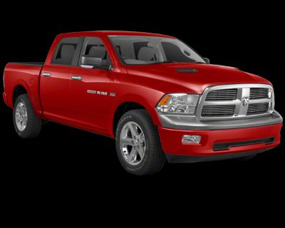 Pre-Owned 2010 Dodge Ram 1500 ST RWD 4D Crew Cab