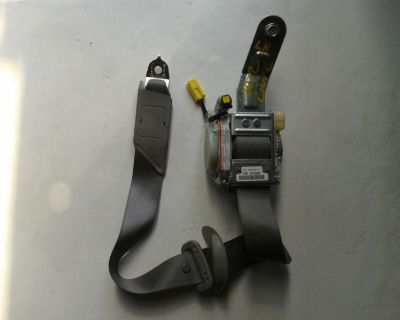 2012-2013 Honda Civic Front Seat Belt Lh Driver Seat Belt Oem Grey