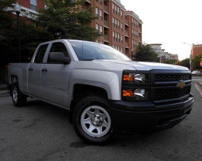 "2014 Chevrolet Silverado 1500 4WD Double Cab 143.5"" Work Truck w/1WT"