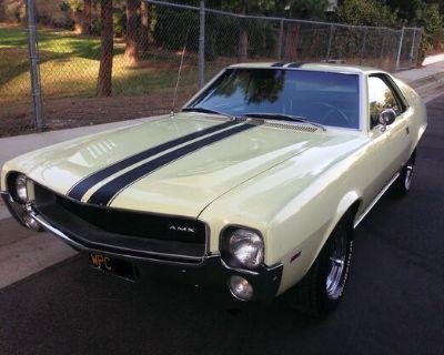 1968 American Motors AMX All-Steel Original Stock