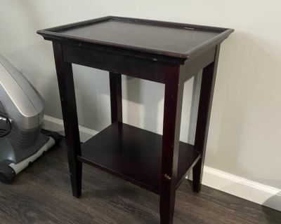 Crate and Barrel side table