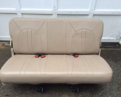 1997-2002 Ford Expedetion Tan Third Row Bench Seat