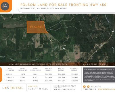 Folsom Land for Sale Fronting Hwy 450