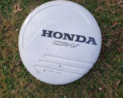 Honda CRV Tire Cover - hardcover