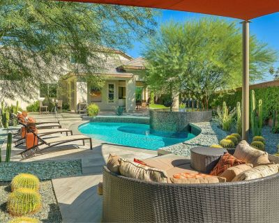 'Empire Greens' 4 BR with Pool, Infinity Spa & Firepit! - Indio
