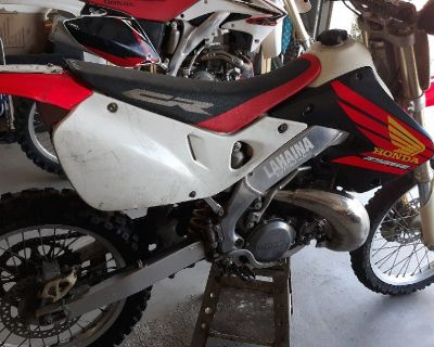 1998 CR250 dirtbike