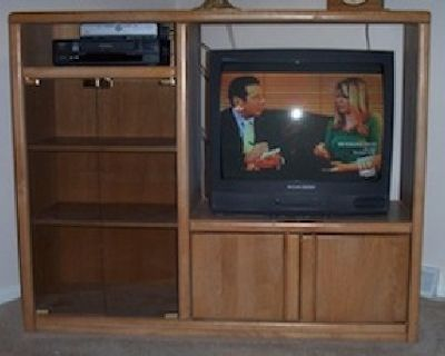 Two entertainment centers