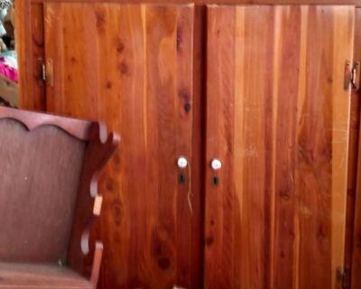 Vintage Murphy 440 Cedar Wardrobe