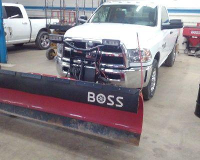2018 RAM 2500 4 X 4 with BOSS 8 foot Super Duty Plow & BOSS TGS 1100 Salt Spreader