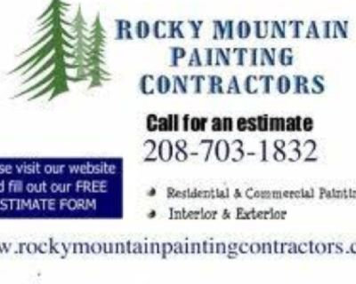 🌲 Rocky Mountain Painting Contractors 🌲 (208)703-1832