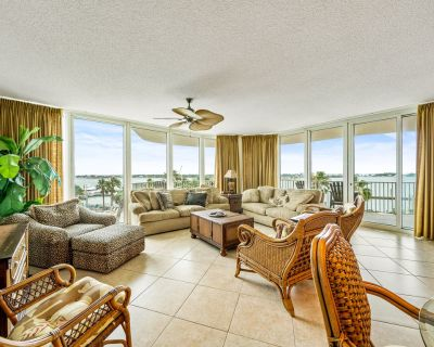 Pristine Corner Condo /w a LG Smart TV and View of Perdido Pass - Orange Beach