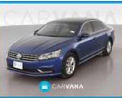 2017 Volkswagen Passat Blue, 55K miles