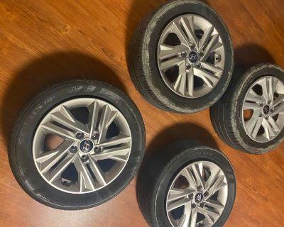 4 Hyundai Rims and Wheels