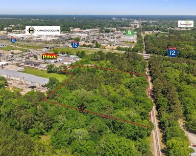 6.61 acres in the Commercial Highway Corridor of Hammond, LA
