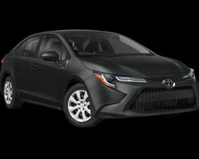 New 2022 Toyota Corolla LE FWD 4D Sedan