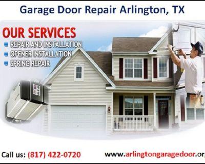 Arlington Garage Door | Garage Door Installation Service ($25.95) Arlington Dallas, 76006 TX